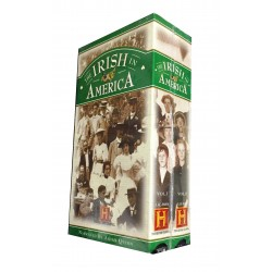 The Irish America - Volumes 1 and 2 (VHS Tape)