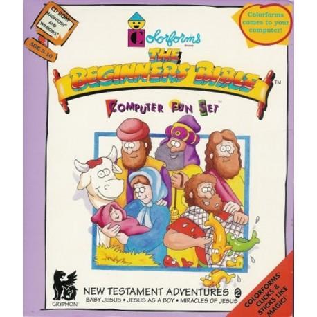 Colorforms The Beginners Bible Computer Fun Set