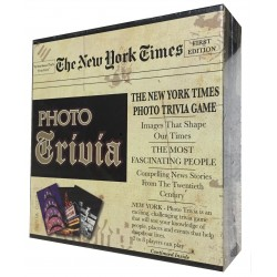 The New York Time Photo Trivia Board Game