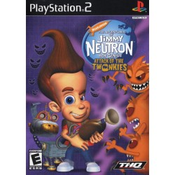 Jimmy Neutron Attack of the Twonkies - PlayStation 2 Game