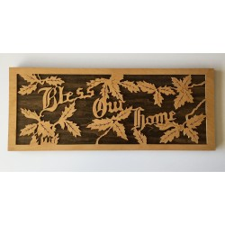 Bless Our Home [Wood Plaque]