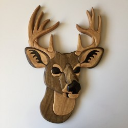 Deer Head [Wood Plaque]