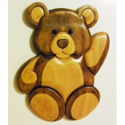 Bear [Wood Plaque]
