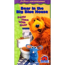 Bear In The Big Blue House: Potty Time With Bear (VHS)
