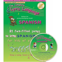 The Complete Lyric Language - Spanish (Audiobook CD)