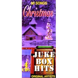 Juke Box Hits: 60 Songs Christmas, Original Artists (4 Audio CD's)