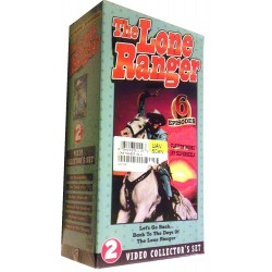 The Lone Ranger – 6 Episodes (VHS)